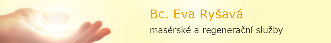 Bc. Eva Ryšavá - masérské a regenerační služby Logo